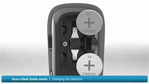 Skift Batterier I Accu-chek Guide Blodsukkerapparat