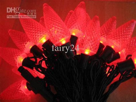 red c5 led christmas lights c3 c5 c6 c7 c9 strawberry red led light string 10meters