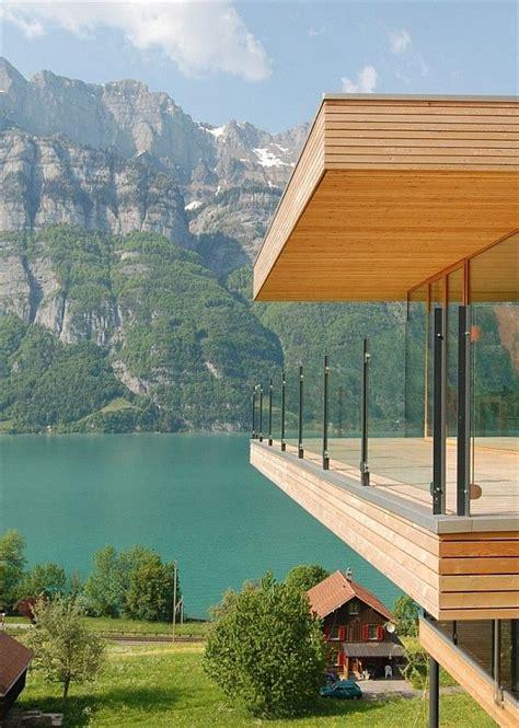 Schöne Wohnhäuser modern wohnhaus architektur sch 246 ne landschaft haus