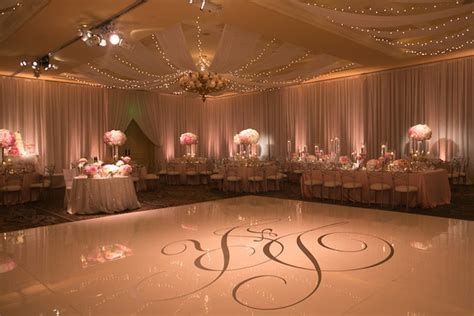 pink white wedding  ombre details  montage laguna beach  weddings