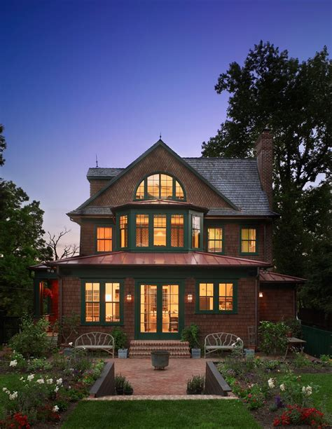 House Barnes by Designing A New Shingle Style House With Classic Style