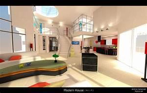 La maison de vos reves vous la voyez comment solo for Interieur maison moderne photos