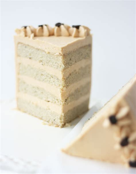 White Mocha Cake with Espresso Caramel Buttercream   Cake Paper Party