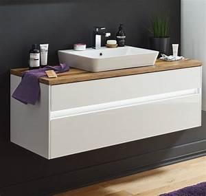 Waschtisch Komplett Mit Unterschrank : puris unique waschtisch mit unterschrank 122 cm ~ Watch28wear.com Haus und Dekorationen