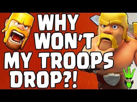 Why Wont My Troops Drop?!  Spending Gems And Loot