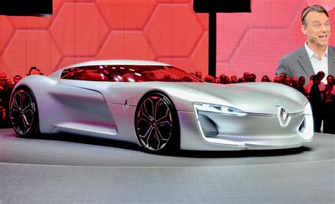 Renault Trezor Is An Electric Grand Tourer From The Future