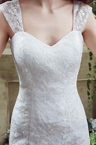 Fitted a line sweetheart corset back lace wedding dress for A line corset wedding dress