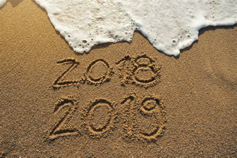 New Year 2019 Is Coming Concept. Happy New Year 2019