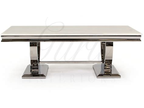 Arianna Marble Top Coffee Table