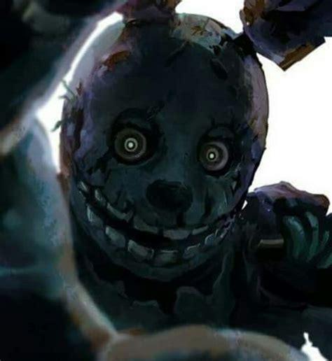 springtrap creepy gore horror pinterest fnaf