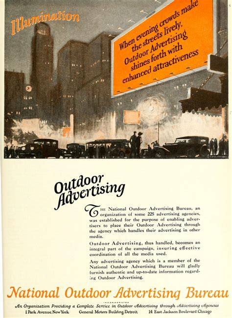 outdoor advertising bureau national outdoor advertising bureau 1920 caigns