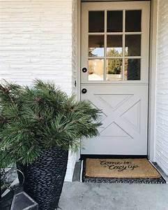 Porche Entrée Maison : porche decoration maison entree pots paysages rodier ~ Premium-room.com Idées de Décoration