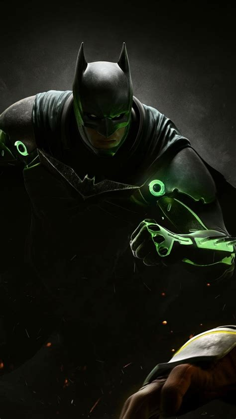 wallpaper injustice 2 batman superman fighting pc