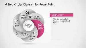6 Step Circles Diagram For Powerpoint