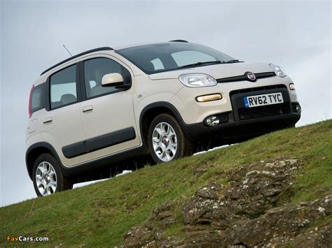 Fiat Panda Specs by Fiat Panda Trekking Uk Spec 319 2013 Images 800x600