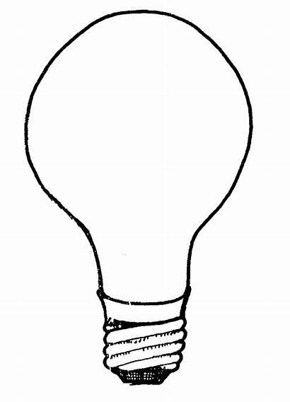 Bulb Idea Clip Clipart Bulbs Powerpoint Advertisement