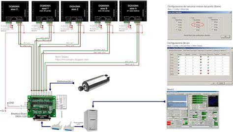 Db25 Wiring Diagram by Wiring Db25 1205 Dq860ma Driver Dq542ma Driver Cnc