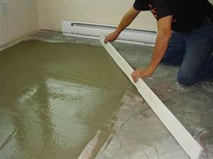 Laminate flooring leveling floors laminate flooring for Floor leveling compound for wood subfloors