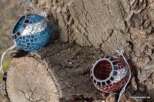 Windlicht Zum Aufhängen : windlicht kugel zum aufh ngen blau silber windlicht windlicht mosaik und kugel ~ Buech-reservation.com Haus und Dekorationen