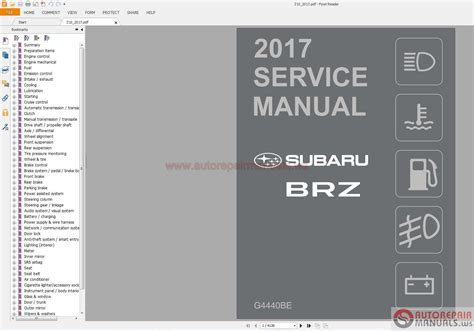 Subaru Repair Manuals Full Set Dvd