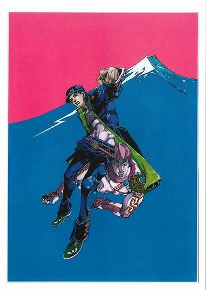 Jojo Adventure Ripples Exhibit Exhibition Prints Araki