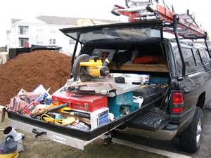 truck bed slide out carpentry contractor talk