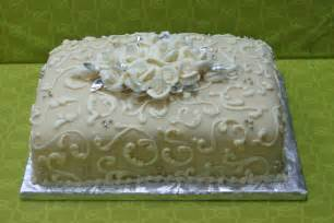 sams club wedding rings new sheet wedding cakes with sheet cake i did two sheet cakes like this to go with the wedding