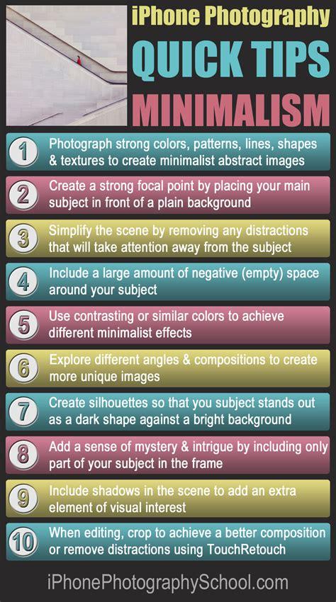 10 Quick Tips For Taking Amazing Minimalist iPhone Photos