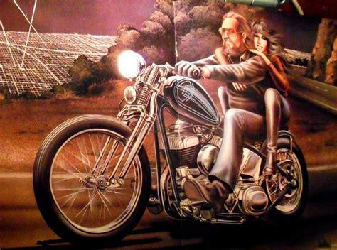 David Mann Easyriders Mulholland Drive Classic Motorcycle