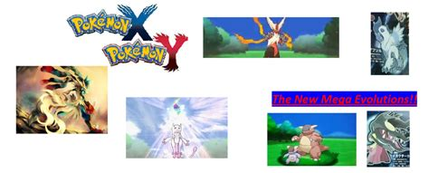 Pokemon X And Y Mega Evolutions By Champion-arceus On