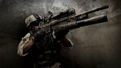 Wallpapers Desktop Gun Backgrounds Computer Rifle Assault
