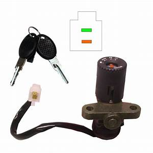 Aw Motorcycle Parts  Ignition Switch Aprilia Rs125 2 Wires