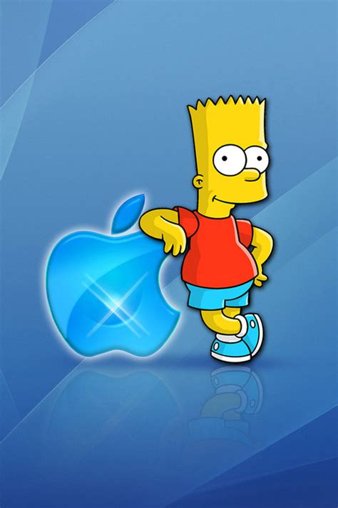 Bart Simpson Iphone 4 Wallpapers 640x960 Mobile Phone Hd