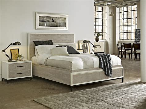 universal furniture curated spencer queen storage bed