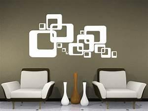 Wandgestaltung Streifen Beispiele : wandtattoo ~ Indierocktalk.com Haus und Dekorationen