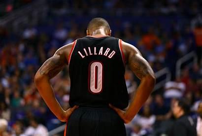 Lillard Damian Blazers Portland Trail Nba Basketball