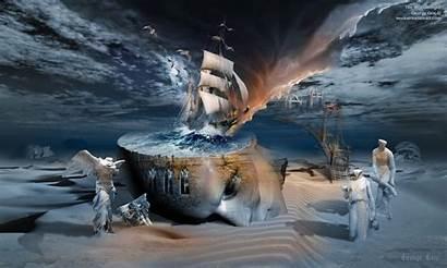 Existential Awakening Surrealism Stormbringer Spiritual Symbolism Surreal