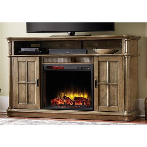 electric fireplace tv stand home depot home decorators collection jamerson manor 60 in media