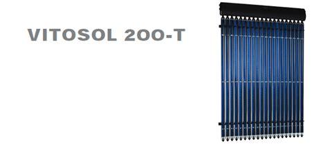 vitosol 200 t viessmann vitosol solar water heating in toronto gta