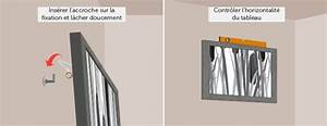 Accrocher Un Tableau Sans Trou : einfach accrocher un tableau ~ Premium-room.com Idées de Décoration