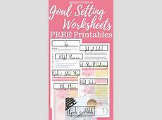 Goal Setting Printables – Morning Motivated Mom