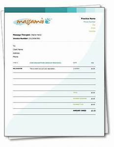 independent massage therapist resources on pinterest With therapy invoice template