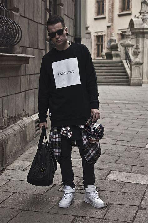 Black Men Urban Fashion Streetwear