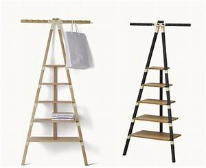 étagère échelle Ikea : ikea echelle ikea style quatre tagre bibliothque en bois ~ Premium-room.com Idées de Décoration