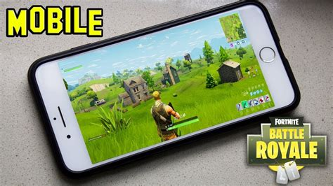 fortnite  mobile iphone andriod