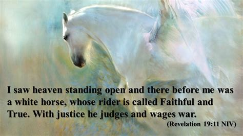 faithful true revelation horse rider heaven peace open standing before called shares peacebewithu