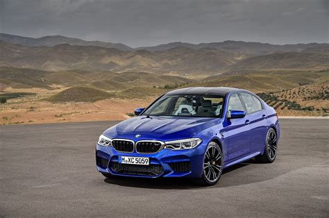 2018 Bmw M5 Arrives Packing A 600hp Twinturbo V8