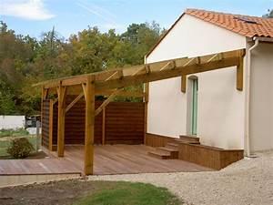 Construire Sa Pergola : appenti jardin ~ Dode.kayakingforconservation.com Idées de Décoration