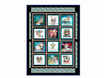 Sassy Quilt Animals Pattern Patterns P15