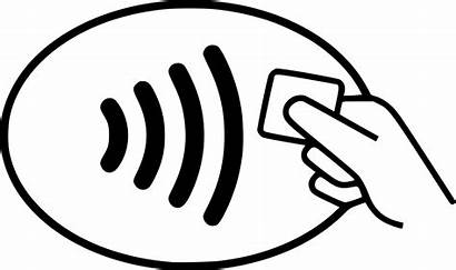 Contactless Card Smart Symbol Wikipedia Wiki Svg